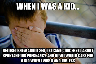 Confession kid