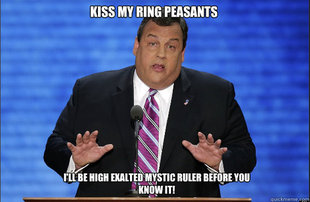 Hypocrite Chris Christie