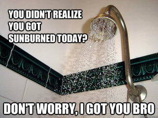 scumbag shower