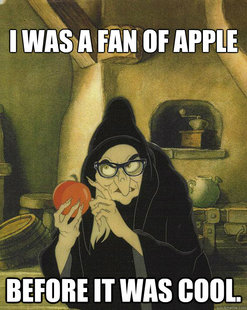 Hipster Snow White Witch