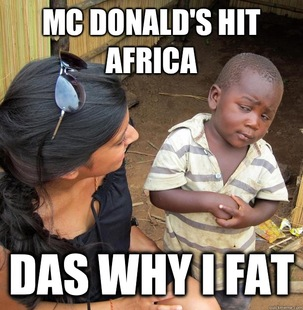 Skeptical Third World Child
