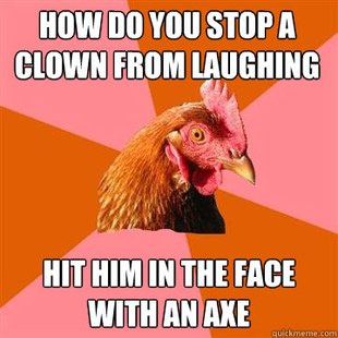 Anti-Joke Chicken