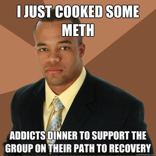 Successful Black Man Meth
