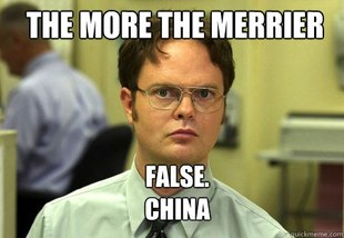 shrute china meme