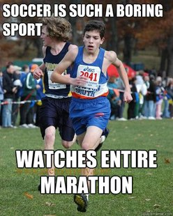 Typical runner