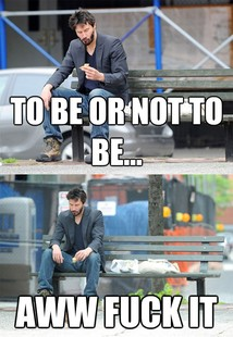Sad Keanu