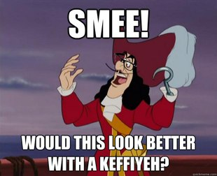 Hipster Captain Hook