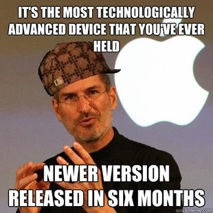 Scumbag Steve Jobs