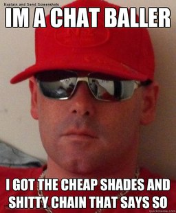 Chatroom douchebag